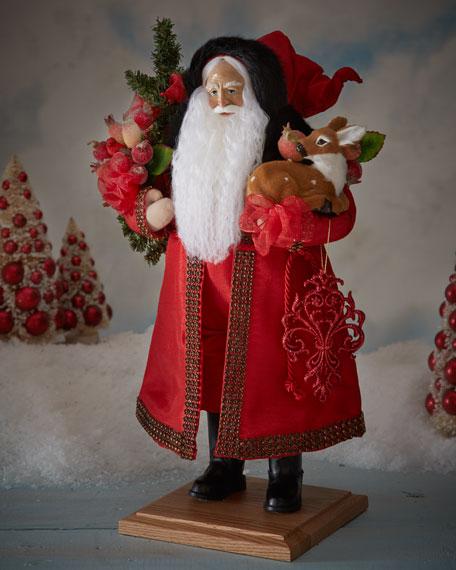 """Festive Splendor"" Santa"