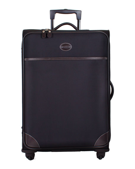 "Black Pronto 25"" Spinner Luggage"