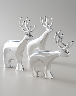 Nambe Dasher Reindeer Set