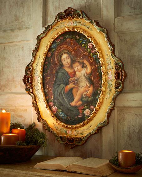Madonna & Child Painting