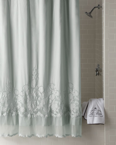 """Caprice"" Shower Curtain"