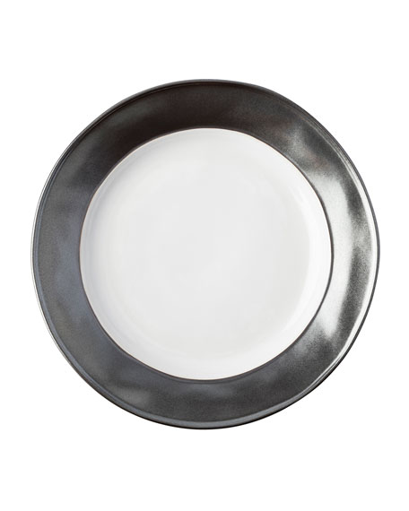 Emerson White/Pewter Dessert