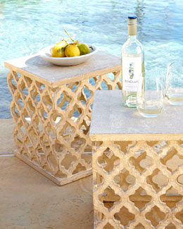 """Moroccan"" Garden Seat"