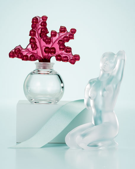 Red Clairefontaine Perfume Bottle