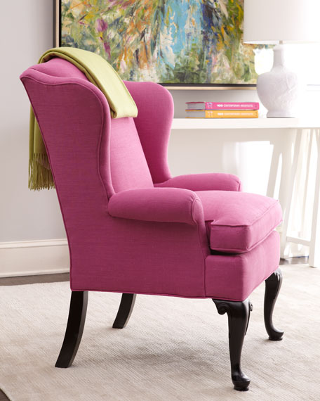 """""""Sally"""" Wing Chair"""