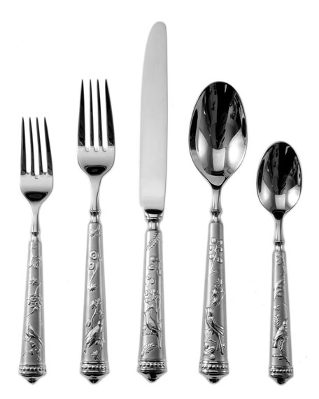 5-Piece Audubon Flatware Place Setting
