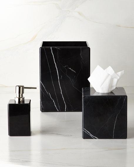 Waterworks Studio Luna Black Marble Vanity Accessories