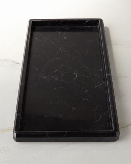 Luna Black Marble Vanity Tray