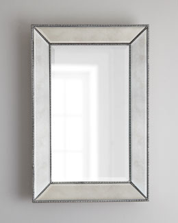 24X36 Beaded Wall Mirror