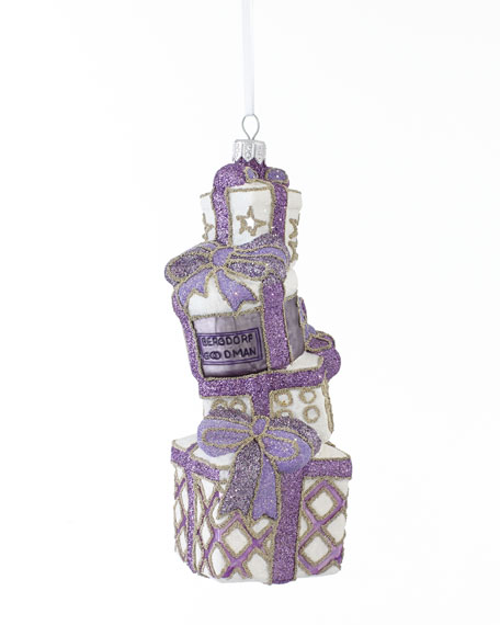 """Stacked Presents"" Christmas Ornament"