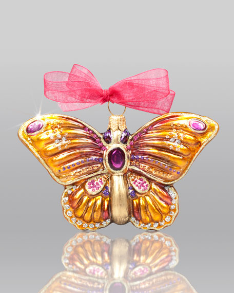 """""""Butterfly"""" Christmas Ornament"""