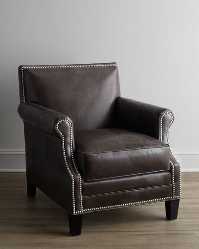 """Grand Turk"" Leather Chair"