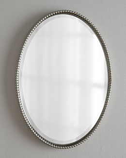 """Sherise"" Oval Mirror"