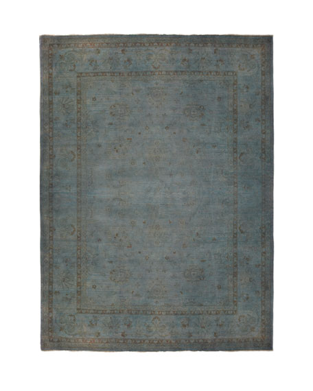 Madras Dyed Rug, 12' x 15'