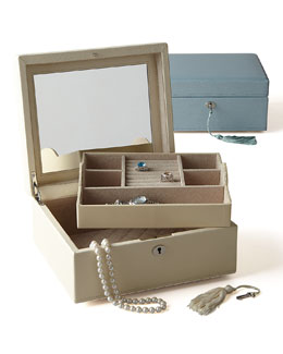 Wolf Designs London Square Jewelry Case