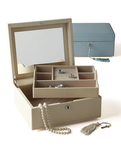 """London"" Square Jewelry Case"