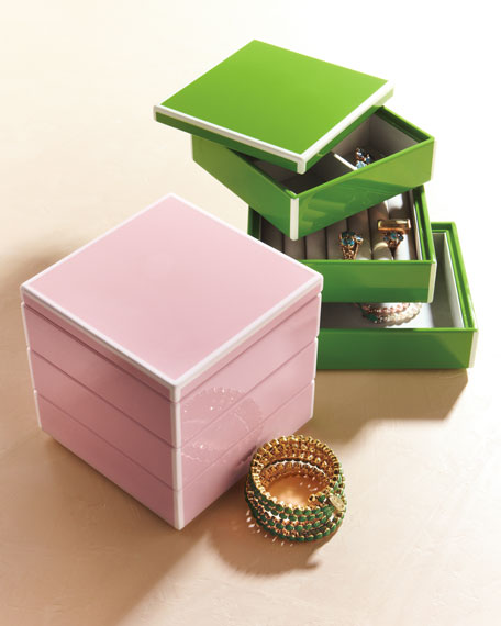 """Elle"" Stacking Jewelry Box"