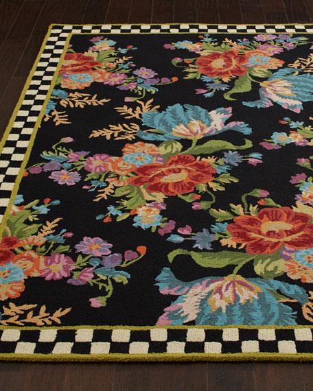 MacKenzie-Childs Flower Market Rug, 9' x 12'