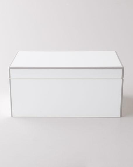 """""""Elle"""" Lacquer Jewelry Box"""