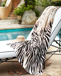 "Natori ""Safari"" Beach Towel"