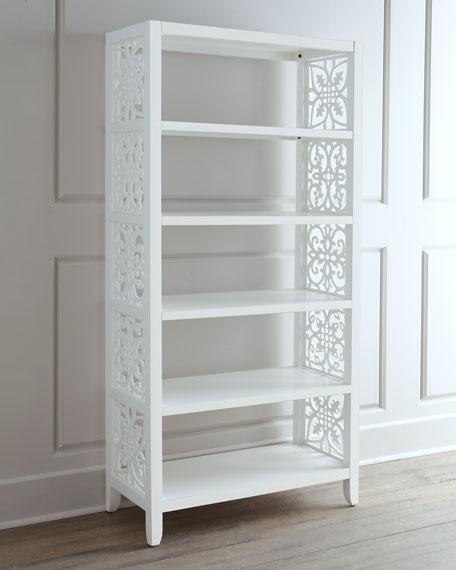 White Spur Bookcase