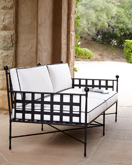 Neoclassical Outdoor Sofa