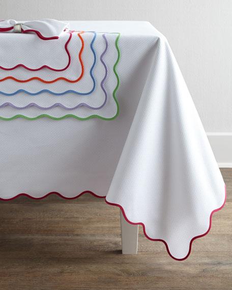 """Lanai Tablecloth, 108"""" Round"""