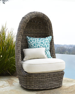 """Summer"" Swivel Lounge Chair"