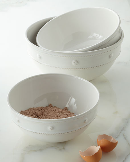 Berry & Thread Mixing Bowls, 3-Piece Set