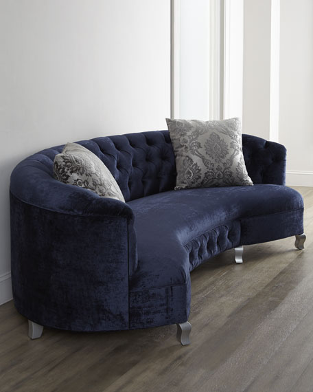 Majestic Jayne Tufted Sofa 114""