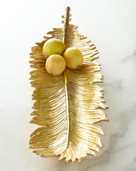 Sago Palm Bread Plate