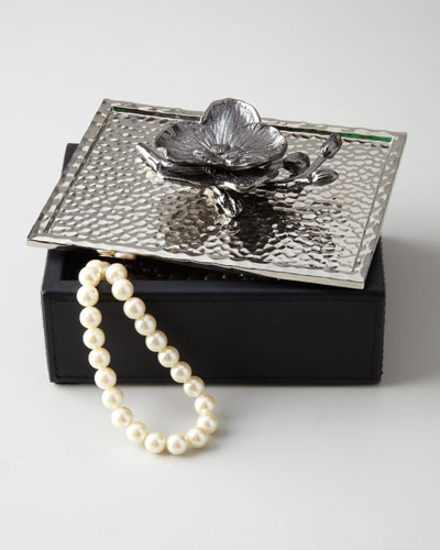 Black Orchid Jewelry Box