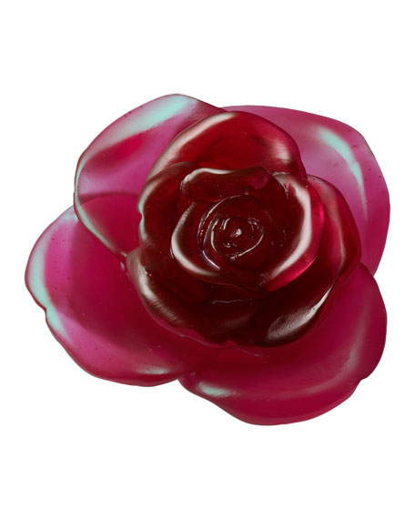 Red Rose Flower Sculpture