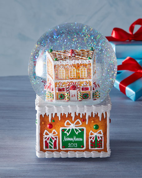 Gingerbread 2013 Snowglobe