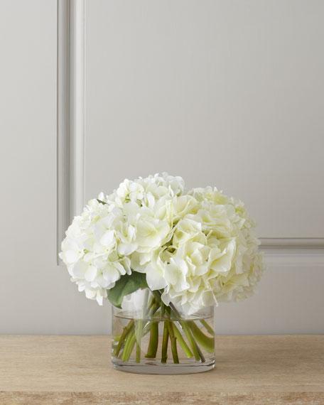 Diane James White Hydrangea Bouquet