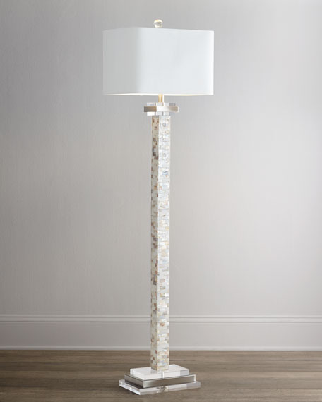 - Mother-of-Pearl Floor Lamp Neiman Marcus