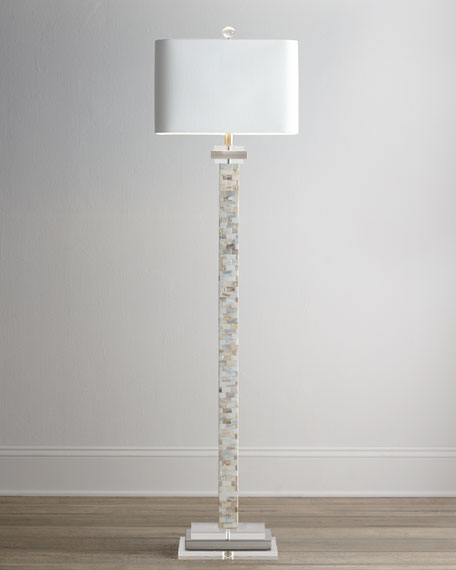 Neimanmarcus Mother-of-Pearl Floor Lamp