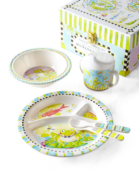 MacKenzie-ChildsFrog Toddler Dinnerware Set