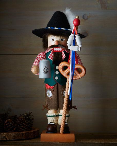 Bavarian Nutcracker Santa