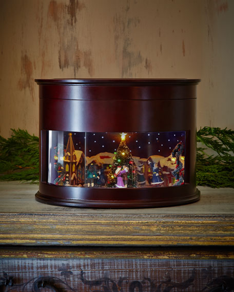 Animated symphony of bells musical tabletop decoration for Animated decoration