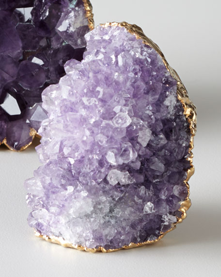 Large Amethyst Interno Paperweight