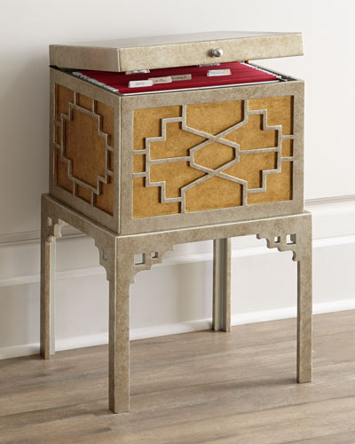 Fretwork File Box