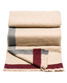 Brunello Cucinelli Basketweave Blanket
