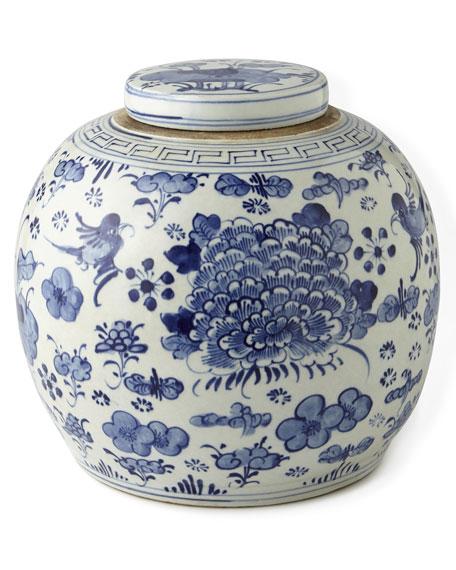Vintage Blue & White Porcelains & Matching Items
