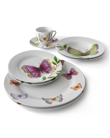 Neimanmarcus 20-Piece Butterfly Dinnerware Service