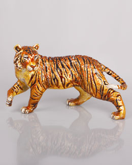 Jay Strongwater Grand Tiger Figurine