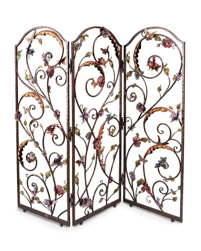 FLORAL WALL SCREEN