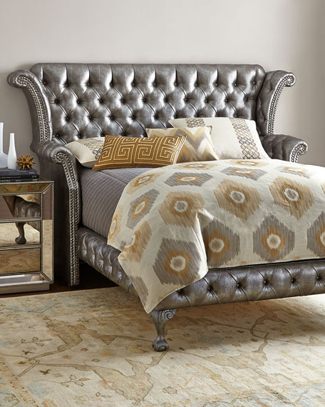 Haute House Carter Platinum Queen Bed
