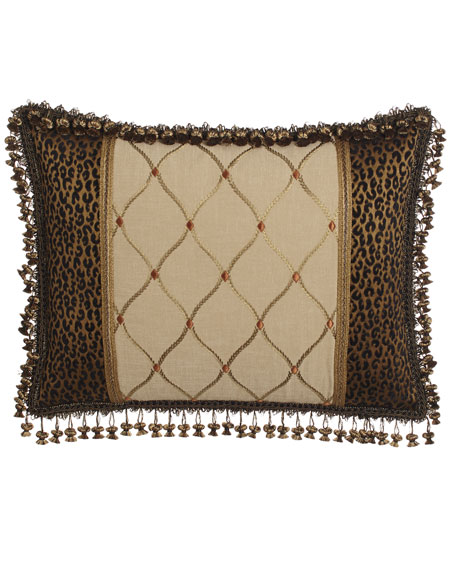 Sweet Dreams King Pieced Sham with Embroidered Center