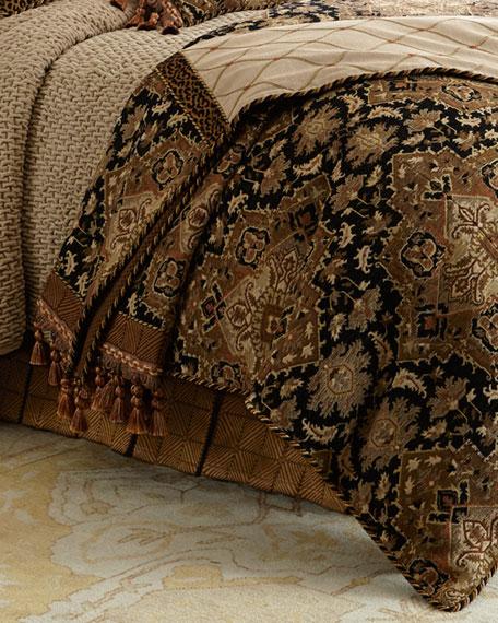 Sweet Dreams Queen Casablanca Geometric Dust Skirt
